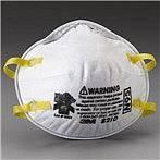 Respirátor, tzv. polomaska chrání dýchací cesty před vstupem kapének do dýchacích cest.