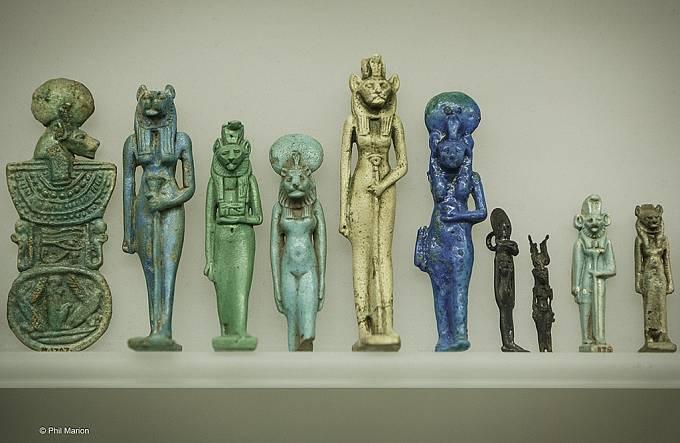 Amulety byly ve starověkém Egyptě nedílnou součástí léčby.