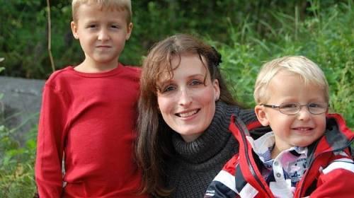Eva Michaláková s dětmi