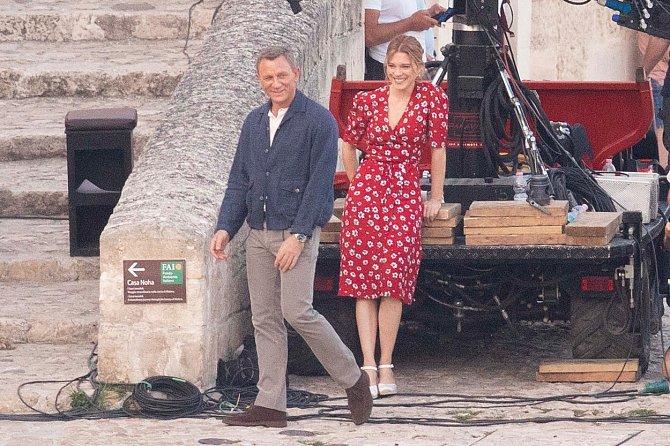 Léa Seydoux a Daniel Craig