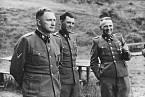 Richard Baer, Josef Mengele a Rudolf Höss v Osvětimi