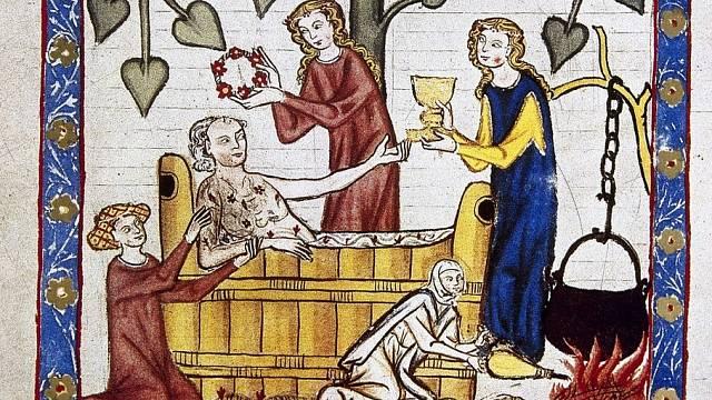 Služba lazebnic byla ve středověku hojně vyhledávaná.