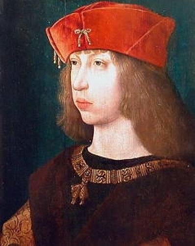 Filip Sličný, manžel Johany Šílené, byl považován za mimořádně krásného mladíka.