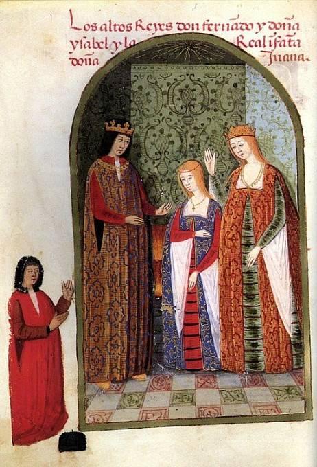 Johana Šílená s rodiči