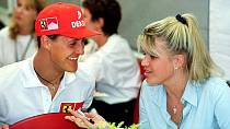 Michael Schumacher s ženou Corrinou