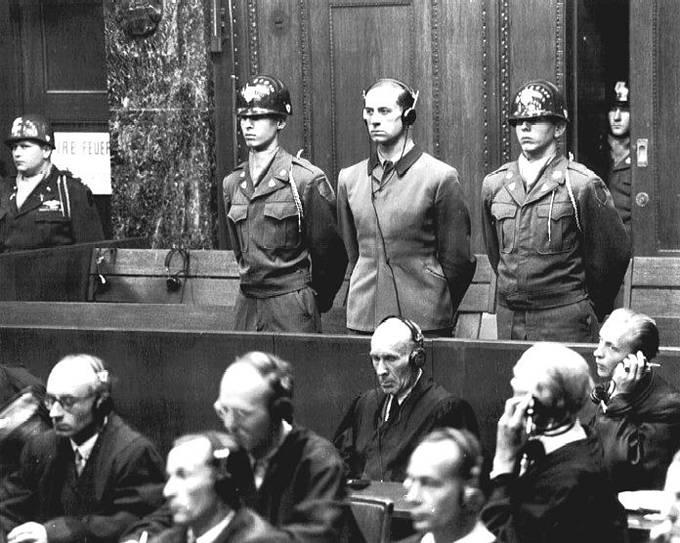 Vojenský tribunál pro válečné zločince v Norimberku