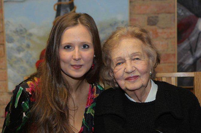 Blanka Bohdanová s vnučkou