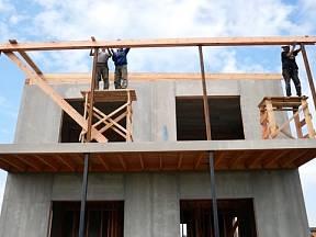 Hrubá stavba byla hotová za 10 dnů.