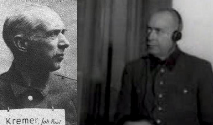 Johann Paul Kremer byl nacistický lékař v koncentračním táboře Osvětim.