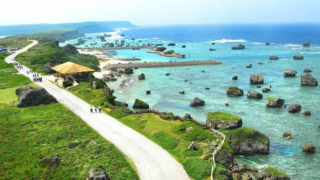 Japonský ostrov Okinawa