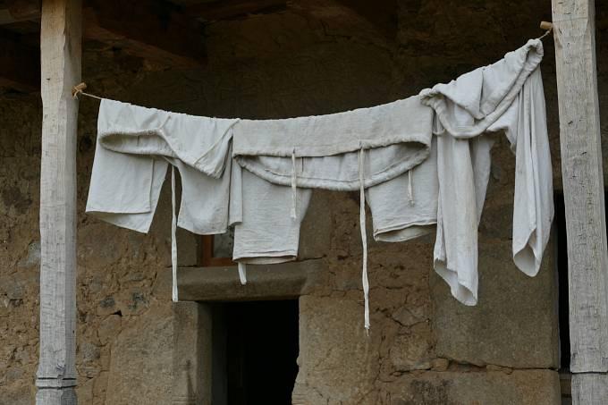 Bývalé kurtizány musely vykonávat různé domácí práce.