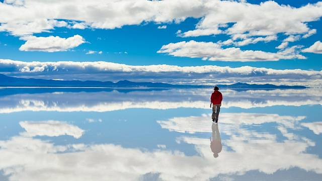 Solná pláň Salar de Uyuni