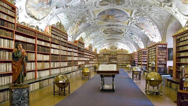 Strahovská knihovna, Praha