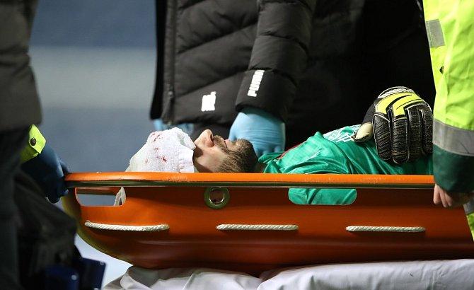 Ondřej Kolář utrpěl zlomeninu v oblasti čelní dutiny.
