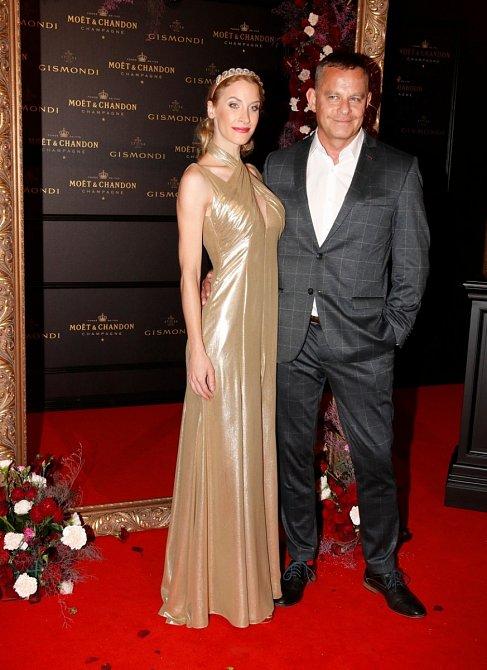 Filip Renč s manželkou