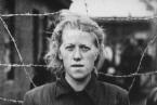 Herta Bothe, dozorkyně z Bergen-Belsenu. Fotografie pořízena spojeneckými vojsky 23. dubna 1945.