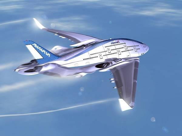 Samotná Konstrukce je navržena tak, že by mělo dojít ke snížení turbulence kolem letadla a ke snížení odporu vzduchu