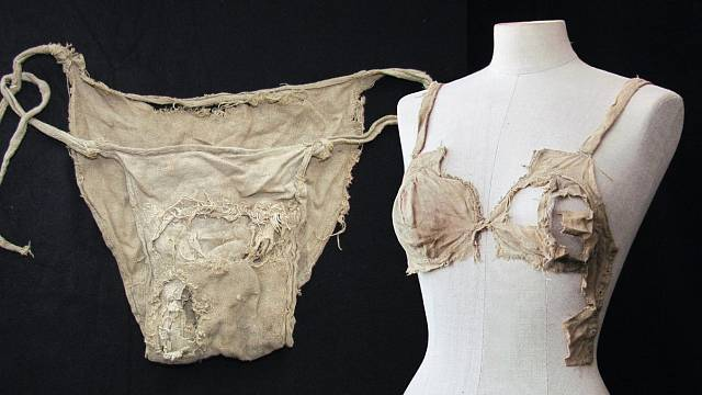 Dámské spodní prádlo z doby před 500 lety