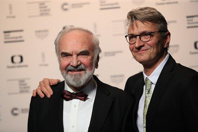 Zdeněk Svěrák se synem Honzou