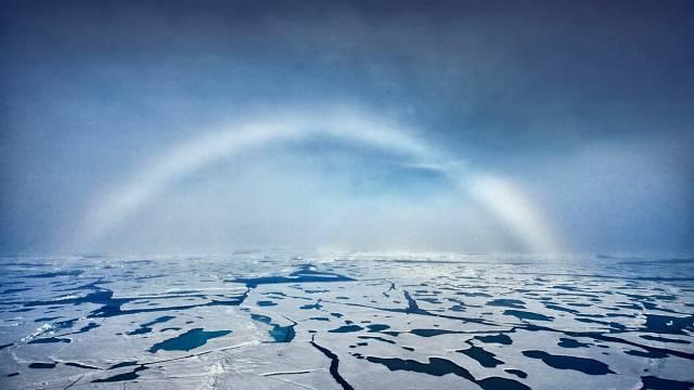 Bílá duha, Severní pól