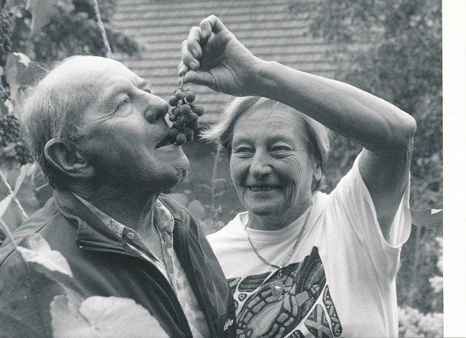 Manželé Zátopkovi