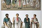 Starořímské oděvy.
