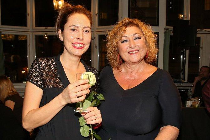 Halina Pawlowská s dcerou