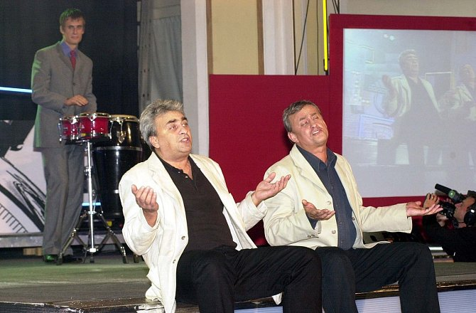 Vladimír Tesařík s bratrem Richardem