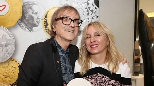 Miroslav Žbirka s manželkou Kateřinou