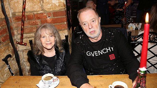 Eva Pilarová s manželem Janem Kolomazníkem