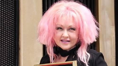Zpěvačka Cynthia Ann Stephanie Lauper.
