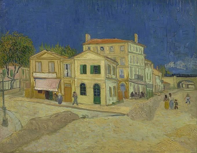 Žlutý dům - Vincent van Gogh