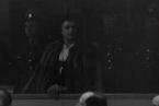 Carmen Mory u prvního soudu s válečnými zločinci z Ravensbrücku (1947).