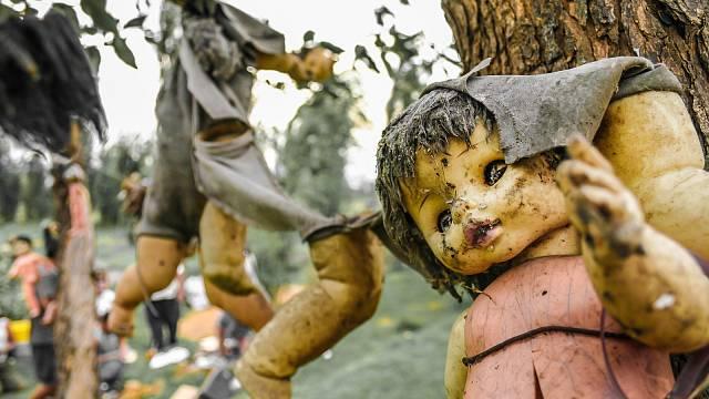 Vítejte na ostrově panenek, nejhororovějším místě v Mexiku
