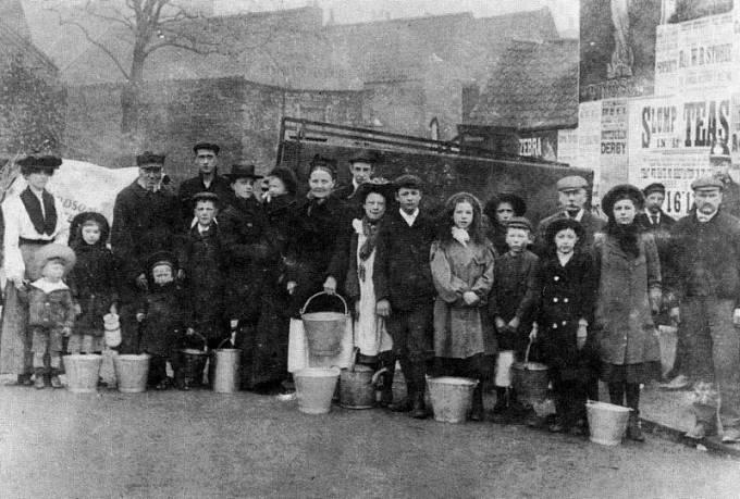 Epidemie tyfu v Lincolnu, rok 1904.