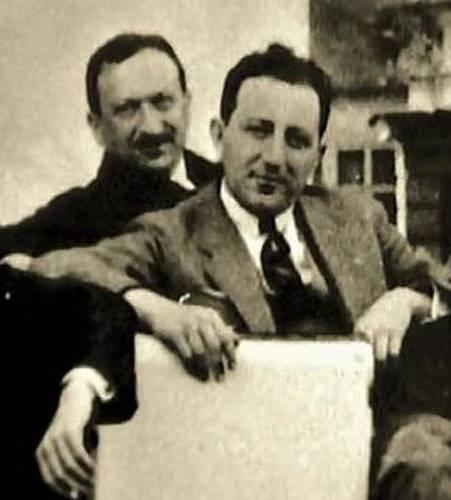 """Josef """"Harry"""" Jelínek (v popředí)"""