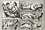 Aztékové nakaženi neštovicemi, 16. století.