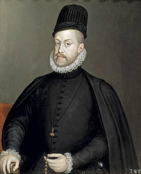 Karlův otec Filip II.