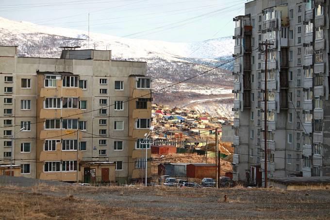 V Magadanu dodnes panují drsné podmínky.