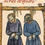 Ve středověku mohl být člověk oběšen za pouhou krádež.
