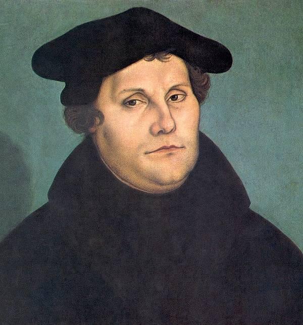 Martin Luther považoval za Antikrista katolickou církev.