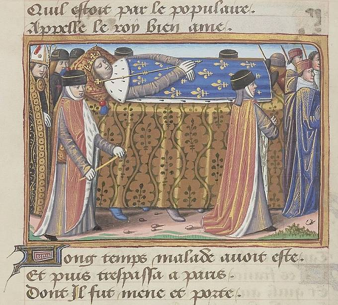 Pohřební průvod Karla VI.