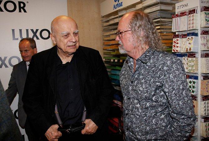 Ivan Mládek a Ondřej Hejma