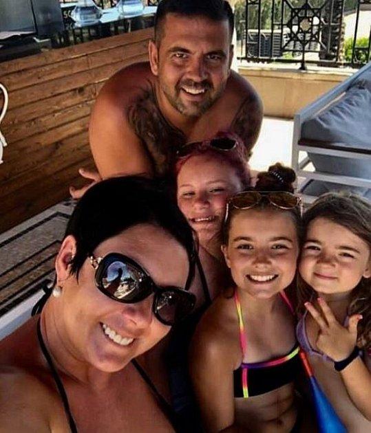 Radek Kašpárek spartnerkou vychovává dohromady tři dcery
