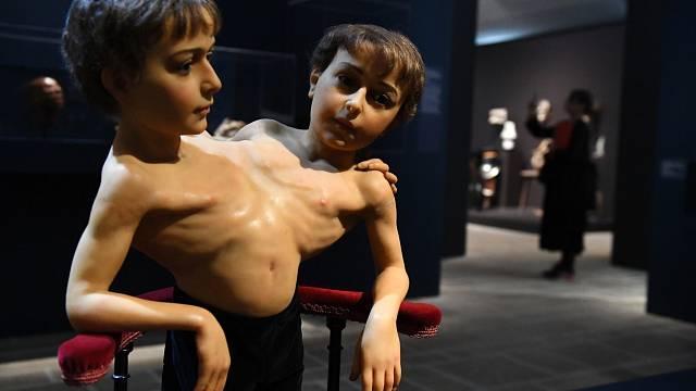 Vosková figurína bratrů Giacoma a Giovanniho