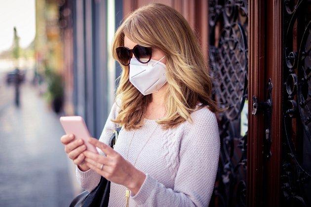 V kvalitním respirátoru by se vám mělo dýchat bez potíží.