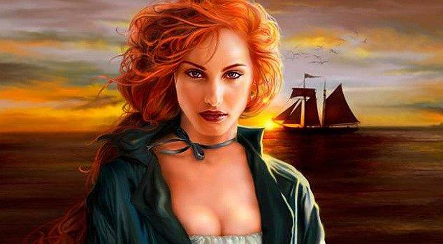 Grace O'Malley je často ztvárňována umělci