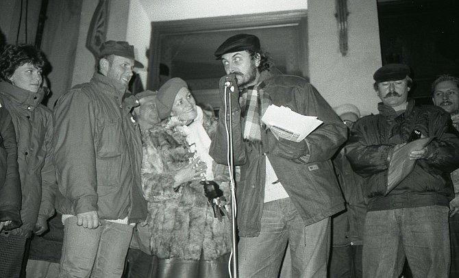 Vladimír Čech v listopadu 1989