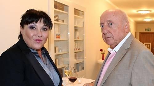 Dagmar Patrasová a Felix Slováček