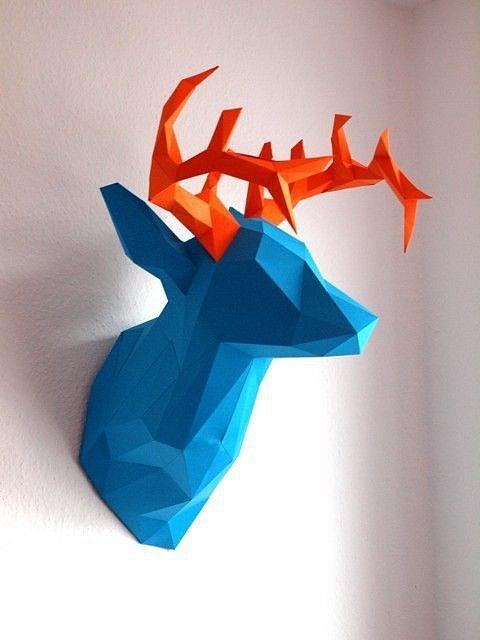 Designové trofeje na zeď jsou vtipné, originální a hodí se pro děti i dospělé.